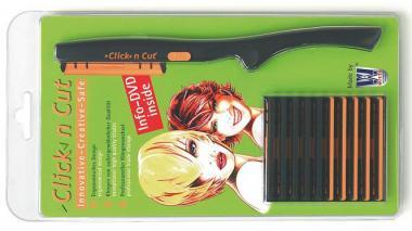 WITTE  Frisiermesser Click 'n Cut Starterset