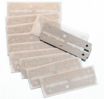 Paquete ERBE con 10 cuchillas de repuesto de 7 cm