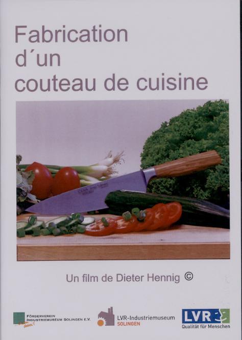 Solingen24 fabrication d un couteau de cuisine francais for Fabricant de cuisine